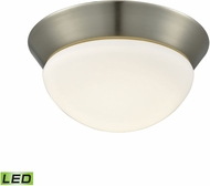 Alico FML7125-10-16M Contours Satin Nickel LED Small Flush Lighting