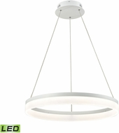 Alico LC2301-N-30 Cycloid Modern Matte White LED Lighting Pendant