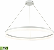 Alico LC2401-N-30 Cycloid Contemporary Matte White LED Pendant Lamp