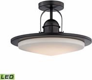 Alico LC412-10-45 Montebello Contemporary Oiled Bronze LED Flush Mount Lighting Fixture