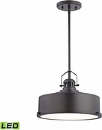 Alico LC415-N-45 Rexford Modern Oiled Bronze LED Pendant Lighting Fixture