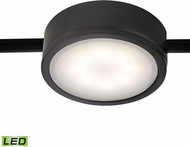 Alico MLE201-5-31 Tuxedo Contemporary Black LED Under Cabinet Puck Light