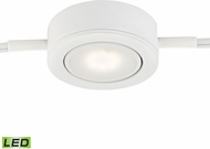Alico MLE401-5-30 Tuxedo Swivel Modern White LED Under Cabinet Puck Lighting