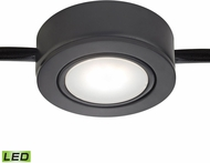 Alico MLE401-5-31 Tuxedo Swivel Contemporary Black LED Under Cabinet Puck Light