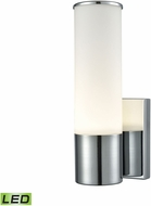 Alico WSL825-10-15 Maxfield Contemporary Chrome LED Wall Lighting Sconce