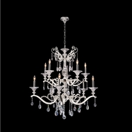 Allegri 020154-017-SS001 Vasari Polished Chrome Swarovski Spectra Clear Chandelier Lamp