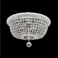 Allegri 020941-010-FR001 Napoli Polished Chrome Firenze Clear 25  Ceiling Light Fixture