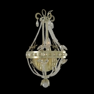 Allegri 021220 Orleans Champagne Silver Leaf LED Sconce Lighting