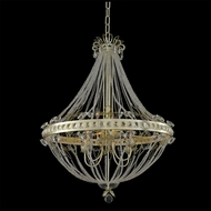 Allegri 021251 Orleans Champagne Silver Leaf LED 26  Hanging Light