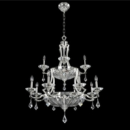 Allegri 028556-017-FR001 Orecchini Chrome Firenze Clear 36  Chandelier Light