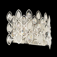 Allegri 028721 Prive Silver Lighting Sconce