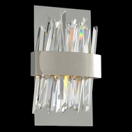 Allegri 030220 Glacier Modern Chrome LED Wall Lighting Sconce
