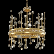Allegri 030750 Fortuna Vienna Gold Leaf LED 19  Pendant Lighting Fixture