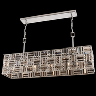 Allegri 031754-010-FR000 Modello Chrome Island Lighting
