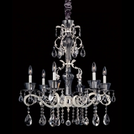 Allegri 10096 Locatelli Two-tone Silver Finish 29  Wide Lighting Chandelier
