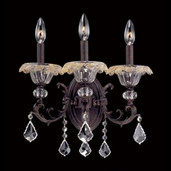Allegri 10211 Praetorius 15.5  Wide Candle Wall Sconce Lighting