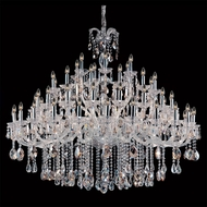 Allegri 10234 Giordano Chrome Finish 53  Tall Ceiling Chandelier