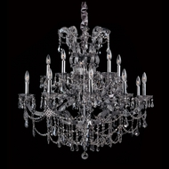 Allegri 10317 Brahms 38  Wide Hanging Chandelier