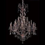 Allegri 10318 Brahms 41  Wide Chandelier Light