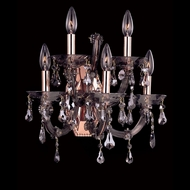 Allegri 10325 Brahms 18  Tall Candle Wall Sconce Light