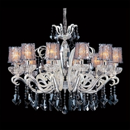 Allegri 10628 Britten Two-tone Silver Finish 28.75  Tall Chandelier Light