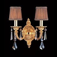 Allegri 10662 Casella Antique Brass Finish 10.6  Wide Wall Lighting