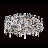 Allegri 11194 Vermeer Chrome Finish 24  Wide Overhead Lighting