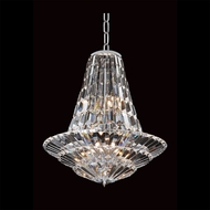 Allegri 11425 Auletta Chrome Finish 24  Wide Chandelier Light