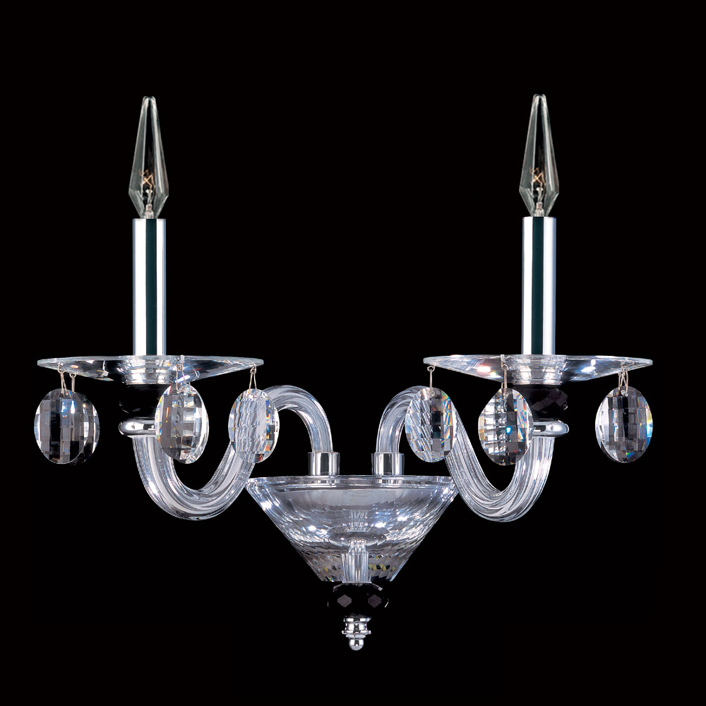 Chrome Wall Sconces For Candles : Allegri 11525 Fanshawe Chrome Finish 16