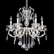 Allegri 22152 Rafael 2-Tone Silver Mini Chandelier Lighting