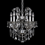 Allegri 23453 Brahms Chrome Mini Ceiling Chandelier