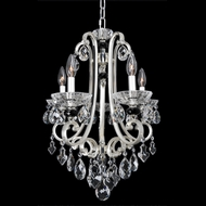 Allegri 23950 Bedetti 2-Tone Silver Mini Chandelier Lighting