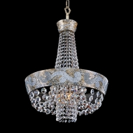 Allegri 24051 Romanov Antique Silver Leaf Lighting Pendant