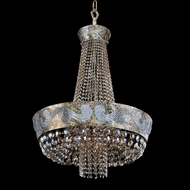 Allegri 24052 Romanov Antique Silver Leaf Pendant Lamp