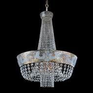 Allegri 24053 Romanov Antique Silver Leaf Hanging Lamp