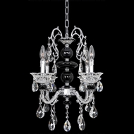 Allegri 24352 Faure Chrome Mini Chandelier Lighting