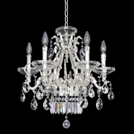 Allegri 24654 Rossi 2-Tone Silver Mini Lighting Chandelier
