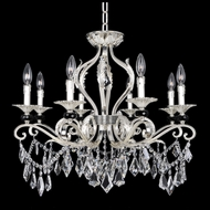 Allegri 25140 Donizetti 2-Tone Silver Chandelier / Flush Mount Lighting