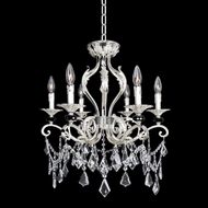 Allegri 25141 Donizetti 2-Tone Silver Chandelier Lamp / Ceiling Light