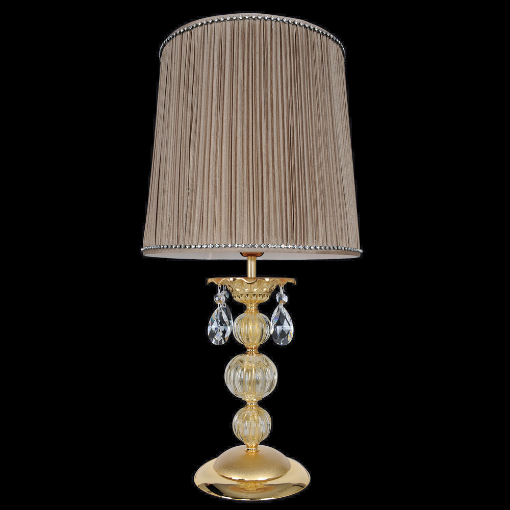 Allegri 25391 Vivaldi Two Tone Gold 24K Side Table Lamp