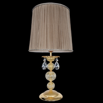 Allegri 25391 Vivaldi Two-Tone Gold /24K Side Table Lamp