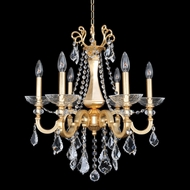 Allegri 25450 Barret French Gold / 24K Mini Hanging Chandelier