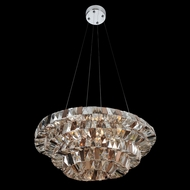 Allegri 26350 Gehry Chrome Pendant Hanging Light
