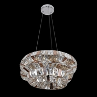Allegri 26351 Gehry Chrome Hanging Light Fixture
