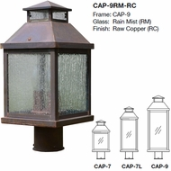 Arroyo Craftsman CAP Canterbury Exterior Post Lighting