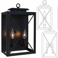 Arroyo Craftsman EXS Exeter Exterior Wall Lamp