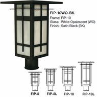 Arroyo Craftsman FIP Finsbury Craftsman Outdoor Post Lamp