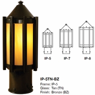 Arroyo Craftsman IP Inveraray Outdoor Lamp Post Light Mount