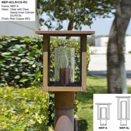 Arroyo Craftsman MEP Meredith Outdoor Post Light