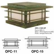 Arroyo Craftsman OPC Oak Park Mission Outdoor Column Mount
